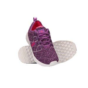 کفش بنفش شرکت تن زیب - عکس با بک سفید